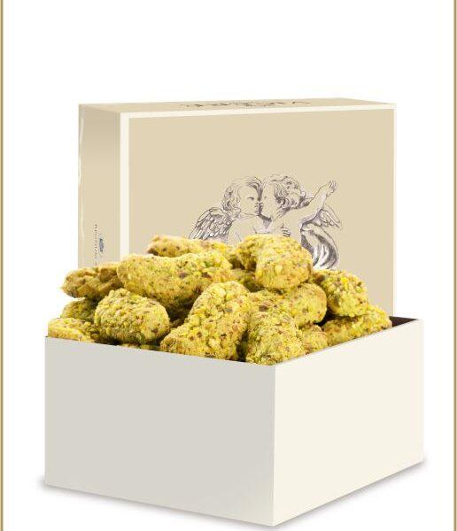 Almond Pastries with Pistachio